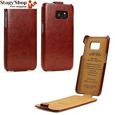 URCOVER® Fashion Flip Case | Étui Protection Samsung Galaxy S7 Simili-cuir...