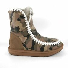 36906 Mubo UGG Women's Boots Classic Mimi CHESTNUT Camouflage