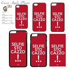 Cover Apple iPhone con Stampa Selfie Sto Caxxo
