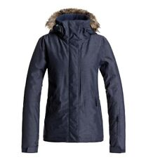Roxy Jet Ski Solid Snow Jacket Navy