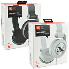 Genuine JBL Synchros E30 On 40mm Drive Over-Ear PureBass Stereo Headphones + Mic