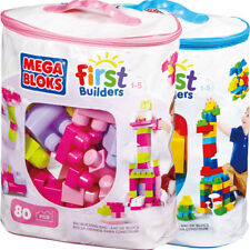 MEGA BLOKS First Builders Sacca ECO Maxi Blocchi 80pz FISHER PRICE
