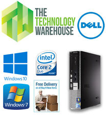 DELL OPTIPLEX 780 USFF PC - CORE 2 DUO 3.0GHz, 4GB RAM, 500GB HDD, WIN 7 OR 10
