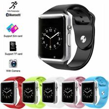 NEW 2017 Bluetooth Smart Watch with SIM Card Slot for Android and iOS