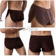 Men's Ice Silk Trunks Boxer Briefs Shorts Pants Underwear Bikini Swim Underpants