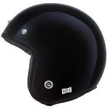 Nexx X.G10 Purist CASCO - Negro Brillante Abierto Casco de Scooter