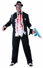 Costume gangster Charleston zombie uomo Halloween Carnevale Cod.173210