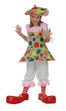 Costume clown bambina Carnevale Cod.170384