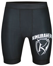 Compression MMA Shorts Vale Tudo Thermal Gym Running Training Base Layer Fitness