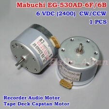 EG-530AD-9B DC 9V CCW Capstan Motor Tape Deck Recorder Audio Spindle Motor