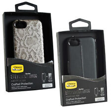 Genuine OtterBox Strada Premium Series Snap On Case Cover For iPhone 7/8 + Glass