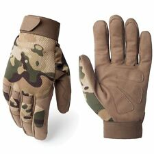 Gloves Breathable Camouflage Mittens Tactical Army Military Work Bicycle Finger