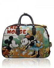 Travel Case Trolley Marilyn Monroe,Mickey Mouse,Frozen,Winnie,LARGE SMALL SIZES