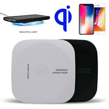 Qi Wireless Charger Charge Pad Slim Quick For iPhone 8 X Note 8 S7 S9 S8+ Plus