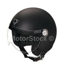 Casco Demi-jet Mrobert Mr66 Senza Visiera Nero Opaco