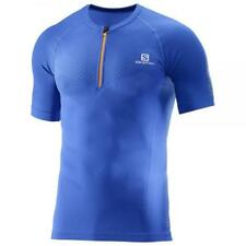 SALOMON Exo Motion HZ SS Tee M blu - T-shirt running