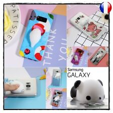 Etui housse coque Squishy 3D Case Cover Soft TPU Silicone Samsung Galaxy S8 G950