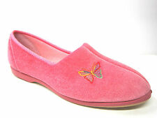 Mujer BUTTERFLY Pantuflas Rosa