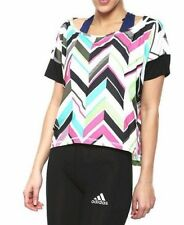 Womens adidas Essentials RL AOP T-Shirt - Built With Climalite Fabric - M64593