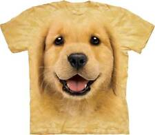 Golden retriever chiot - T-shirt enfant - The Mountain - Vêtement T-shirt animau