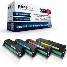 4x Office Tonerkartuschen für HP Color LaserJet CE270-CE273 - Office Plus Serie