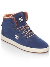 DC Navy-Camel Crisis High Winterized - Sherpa Lined Shoe