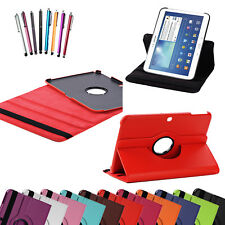 """Samsung Leather 360° Rotation Smart Stand Case Cover Galaxy Tab 4 10.1"""" SM-T530"""