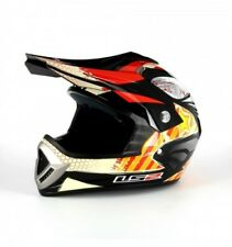 Casco Bambino Ls2 Mx426 Jr Rox Nasty Junior Black Orange