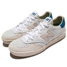 New Balance CRT300WL D White Ivory Blue Leather Men Shoes Sneakers CRT300 WLD