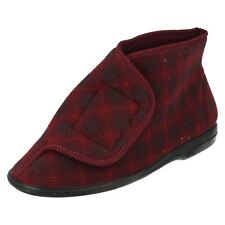 Mens Balmoral Boot Style Lounge Slippers 'V Boot M22'