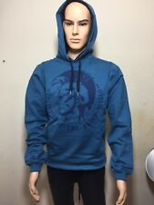 Diesel Suzanne Winter Sweat Hoddie in Blue big logo printed. Size L & XL.