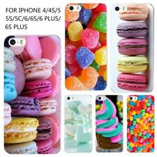 iPhone Cover Hard Plastic Painted Mobile Back Case iPhone 4 4s 5 5s 6 6s Shell