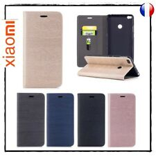 Etui coque Housse Magnetic Auto absorbed Wallet Cover case Xiaomi Mi Max 2