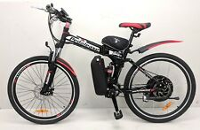 Pedalease electric mountain bike 36v 250w / 500w Samsung cell lithium batteryLED