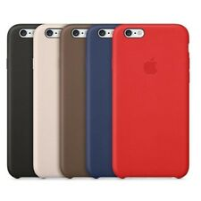 ORIGINALE ECOPELLE SILICONE MORBIDO pelle Custodia Slim Cover per iPhone 5 6S
