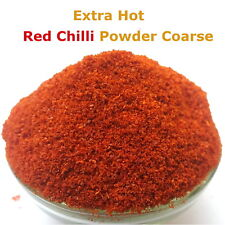 Extra Hot Red Chilli Powder Coarse Indian Chili Grounded 25g - 500g
