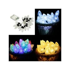 20PCS LED Conical Shape String Lights Wedding Party Christmas Holiday Decoration