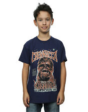 Star Wars Jungen Chewbacca Rock Poster T-Shirt