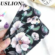 Floral Phone Case iPhone 6 5 5S Hard PC Camellia Flower Mobile Back Cover Shell