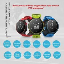 NEW 2017 X2 Bluetooth Smart Watch Heart Rate Blood Pressure Mate For Android iOS
