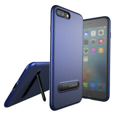 Carbon Fiber Texture Slim TPU Protective Phone Case For iPhone X 7 8 6 6s plus