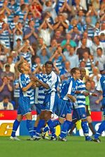 Reading FC player's celebrating a goal photograph picture print photo