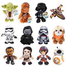 Star Wars Felpa kashani Animal DARTH VADER YODA CHEWBACCA Ewok bb-8 tela NUEVO