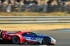 Ford GT no66 24 Hours of Le Mans 2017 photograph picture poster print