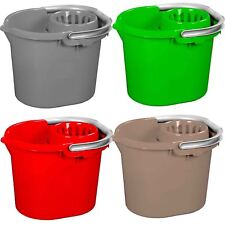 16L Plastic Mop Bucket Removable Wringer Durable Cleaning Car Wash Home Office