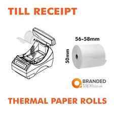 THERMAL TILL RECEIPT PAPER ROLLS credit card machine EPOS Cash terminal