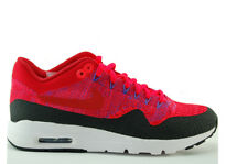 Nike W Air Max 1 Ultra Flyknit sneakers scarpe donna Rosso NUOVO