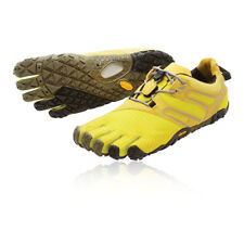Vibram FiveFingers V-Trail Womens Yellow Running Sports Shoes Trainers Pumps