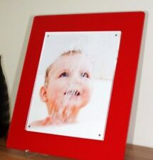 """All color Cheshire  Acrylic 8x10 """"  magnetic 10 x 8 """" desk picture photo frame"""