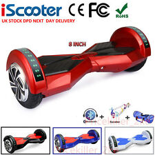 "8 "" Hoverboard Self Balancing Scooter électrique Overboard Bluetooth + Éloigné"